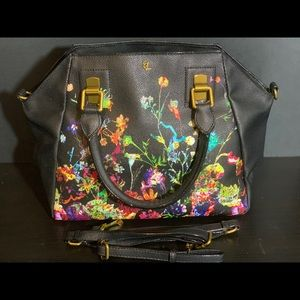 Handbag - NWOT Elliot Lucca Leather floral bag